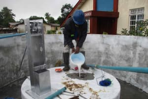 The Water Project: Shepherd Foundation, New Apostolic Church and Primary School -  Chlorination