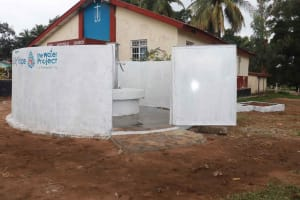 The Water Project: Shepherd Foundation, New Apostolic Church and Primary School -  Finished Water Point