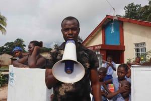 The Water Project: Shepherd Foundation, New Apostolic Church and Primary School -  Mr Abubakarr Bangura