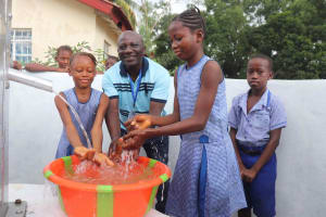 The Water Project: Shepherd Foundation, New Apostolic Church and Primary School -  Mr Philip A Kanu