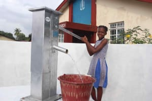 The Water Project: Shepherd Foundation, New Apostolic Church and Primary School -  Student Collecting Water