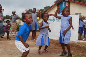 The Water Project: Shepherd Foundation, New Apostolic Church and Primary School -  Students Dancing And Celebrating