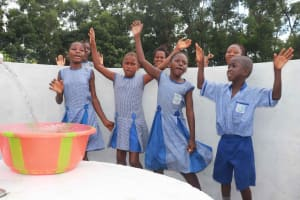 The Water Project: Shepherd Foundation, New Apostolic Church and Primary School -  Students Dancing And