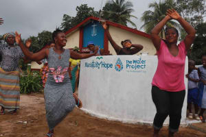 The Water Project: Shepherd Foundation, New Apostolic Church and Primary School -  Dancing And Celebrating