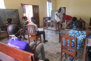 The Water Project: Shepherd Foundation, New Apostolic Church and Primary School -  Demostrating Proper Handwashing