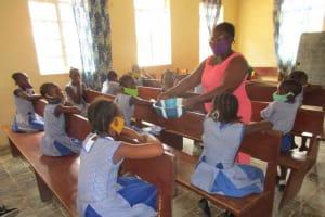 The Water Project: Shepherd Foundation, New Apostolic Church and Primary School -  Handwashing Method