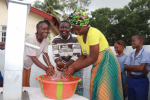 The Water Project: Shepherd Foundation, New Apostolic Church and Primary School -  Happy For Water
