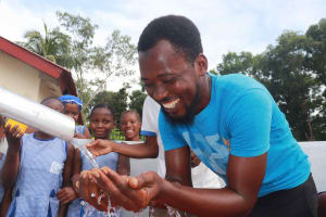 The Water Project: Shepherd Foundation, New Apostolic Church and Primary School -  Joyful