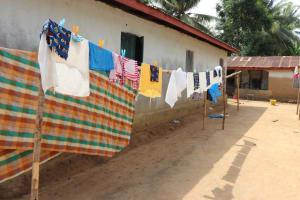 The Water Project: Kamasondo, Mayeamy Village -  Clothesline