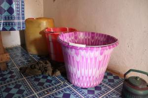 The Water Project: Kamasondo, Mayeamy Village -  Water Containers