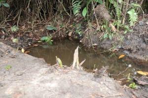 The Water Project: Kamasondo, Mayeamy Village -  Alternate Water Source