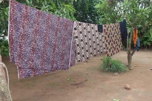 The Water Project: Rosint, Cassava Farm, Makuta Oil Palm Garden -  Clothesline