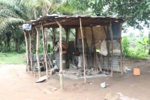 The Water Project: Rosint, Cassava Farm, Makuta Oil Palm Garden -  Kitchen