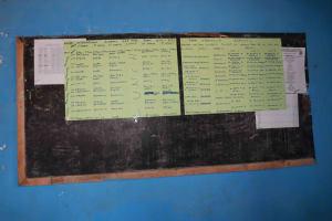 The Water Project: Lungi, Rogbom Tardi, International High School -  School Notice Board