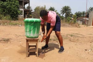 The Water Project: Lungi, Rogbom Tardi, International High School -  Handwashing