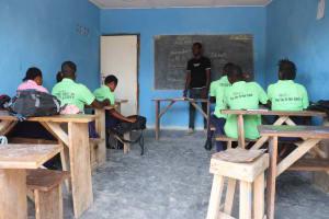 The Water Project: Lungi, Rogbom Tardi, International High School -  In Class