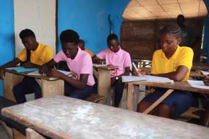 The Water Project: Lungi, Rogbom Tardi, International High School -  Inside Classroom