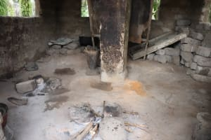 The Water Project: Rosint, Cassava Farm, Makuta Oil Palm Garden -  Inside Kitchen