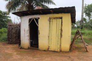 The Water Project: Rosint, Cassava Farm, Makuta Oil Palm Garden -  Latrine