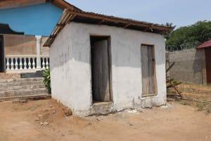 The Water Project: Lungi, Rogbom Tardi, International High School -  School Latrine