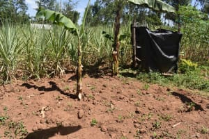 The Water Project: Muting'ong'o Community, Chivuyi Spring -  Bathing Shed