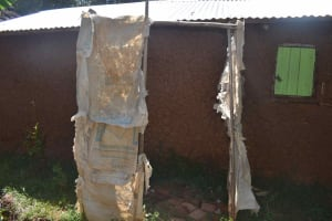 The Water Project: Muting'ong'o Community, Chivuyi Spring -  Bath Shed