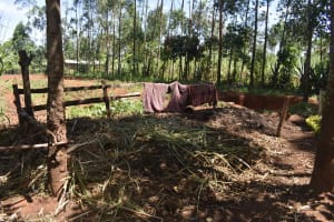 The Water Project: Muting'ong'o Community, Chivuyi Spring -  Blanket Drying
