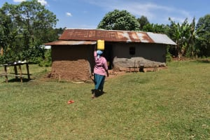 The Water Project: Muting'ong'o Community, Chivuyi Spring -  Carrying Water