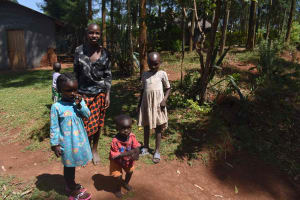 The Water Project: Muting'ong'o Community, Chivuyi Spring -  Children At Home