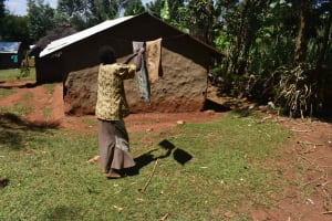 The Water Project: Muting'ong'o Community, Chivuyi Spring -  Clothesline