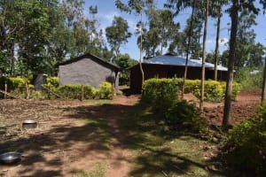 The Water Project: Muting'ong'o Community, Chivuyi Spring -  Homestead