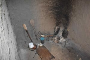 The Water Project: Muting'ong'o Community, Chivuyi Spring -  Kitchen