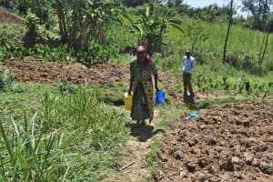 The Water Project: Muting'ong'o Community, Chivuyi Spring -  Long Walk Back