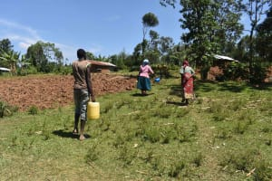 The Water Project: Muting'ong'o Community, Chivuyi Spring -  Walking Home