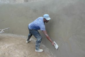 The Water Project: Gimariani Primary School -  Inside Plastering