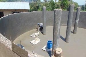 The Water Project: Gimariani Primary School -  Floor Plastering