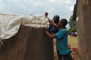 The Water Project: Gimariani Primary School -  Dome Setting