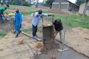 The Water Project: Gimariani Primary School -  Latrine Slab
