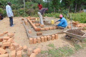 The Water Project: Gimariani Primary School -  Brick Setting