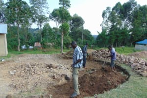 The Water Project: Gimariani Primary School -  Excavation