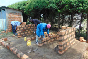 The Water Project: Gimariani Primary School -  Brick Work