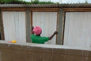 The Water Project: Gimariani Primary School -  Door Fixing