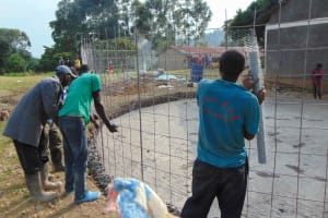 The Water Project: Gimariani Primary School -  Wire Reinforcement