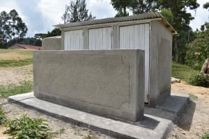 The Water Project: Gimariani Primary School -  Latrine