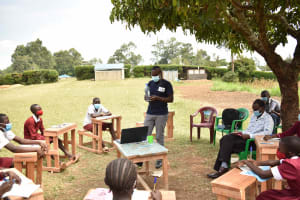 The Water Project: Gimariani Primary School -  Demonstrating Solar Disinfection