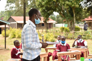 The Water Project: Gimariani Primary School -  Mr Mugera Shares