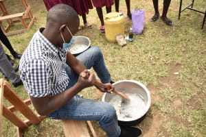 The Water Project: Gimariani Primary School -  Soapmaking Demonstration