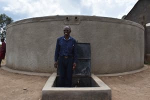 The Water Project: Gimariani Primary School -  Edward Mugera