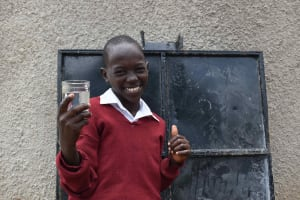The Water Project: Gimariani Primary School -  Students Celebrating At The Water Point