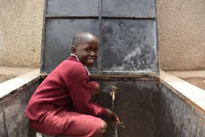 The Water Project: Gimariani Primary School -  Students Celebrating Water